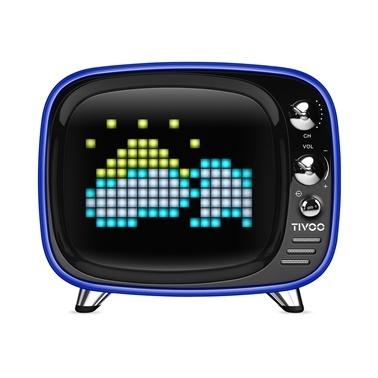 Divoom Divoom Tivoo Pixel Art Smart Mavi Bluetooth Hoparlör Mavi
